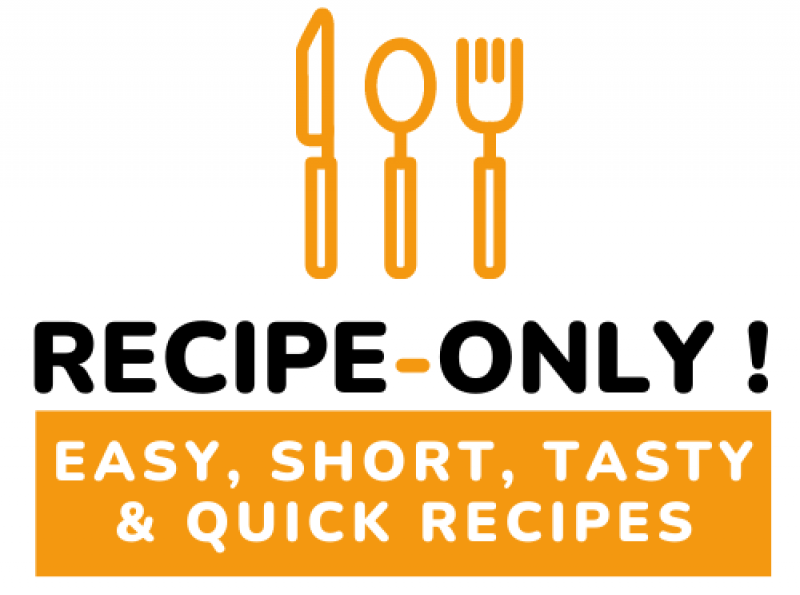RECIPE ONLY
